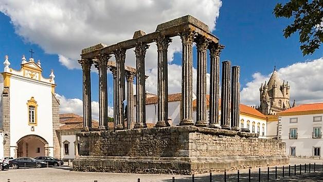 História, ÉVORA – Templo Romano